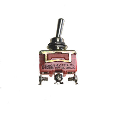 Industec 12 Mm Spdt Toggle Switch