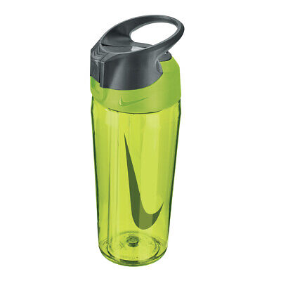 Nike HyperCharge Straw 16oz Gym Sports Water Drinks Bottle No Leak Volt Yellow