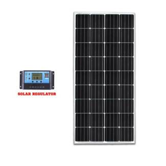 12V 200W Mono Solar Panel Kit Caravan Camping Power Battery Home Brisbane City Brisbane North West Preview