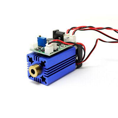 Green Diode Lasers 520nm 100mw Laser Dot Module Fan Cooling - Long Time Work 12v