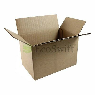 100 6x4x4 Cardboard Packing Mailing Moving Shipping Boxes Corrugated Box Cartons