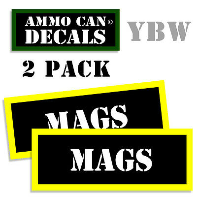 "Ammo Can Labels Ammunition Decals SUBSONIC 2 pack PINK 3/""x1.15/"""