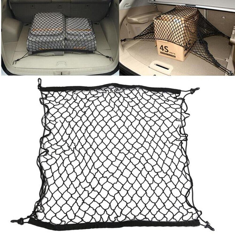 Universal Netz Kofferraum Ladenetz Kofferraumnetz Gepäcknetz Auto mit 4 Haken DE