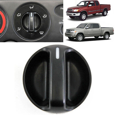 Climate Control Knobs - Black AC Climate Control Knob Air Switch Fit 2000-2006 Toyota Tundra 55905-0C010