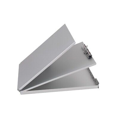 Staples Aluminum Storage Clipboard Letter Silver 12-3/4