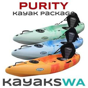 SALE ON - New Purity Single Kayak - $449 SAVE $250 Midland Swan Area Preview