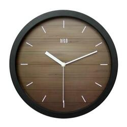 hito Silent Wall Clock Non Ticking 12 inch Excellent Accurate Sweep Movement