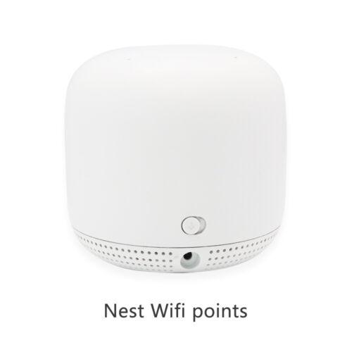 Google Nest Wifi Point (GA00667-US) Nest Wifi Range Extender Add-on Point -White