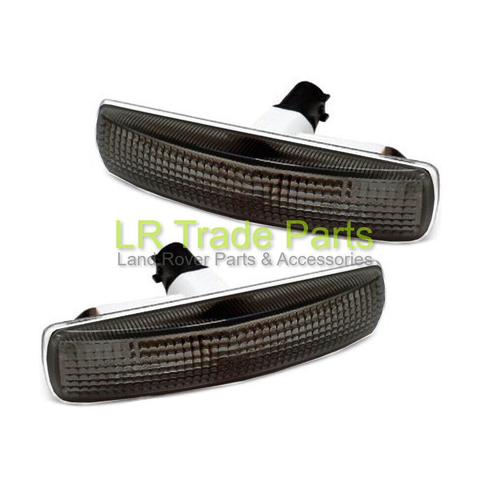 PAIR Tinted Side Repeaters Indicators for Range Rover SPORT 2005 Smoked