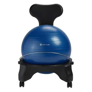 NEW Gaiam Balance Ball Chairs Condtion: New, Blue
