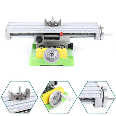 Milling Machine Compound Work Table Cross Slide Bench Xy 2-axis Drill Press Vise