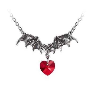 Alchemy Gothic Vampire Loveheart Pewter Pendant BRAND NEW