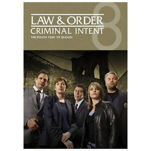 NEW Law and Order-Criminal Intent-Season 8