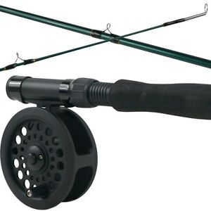 Crystal River Fly Fishing Combo Kit, Rod Reel Fish Camping Gear Equipment, New