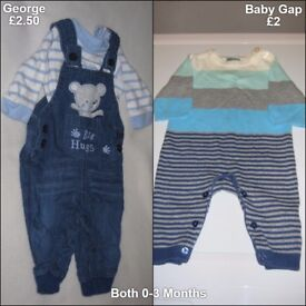 Baby Boys 0-3 Months Clothes