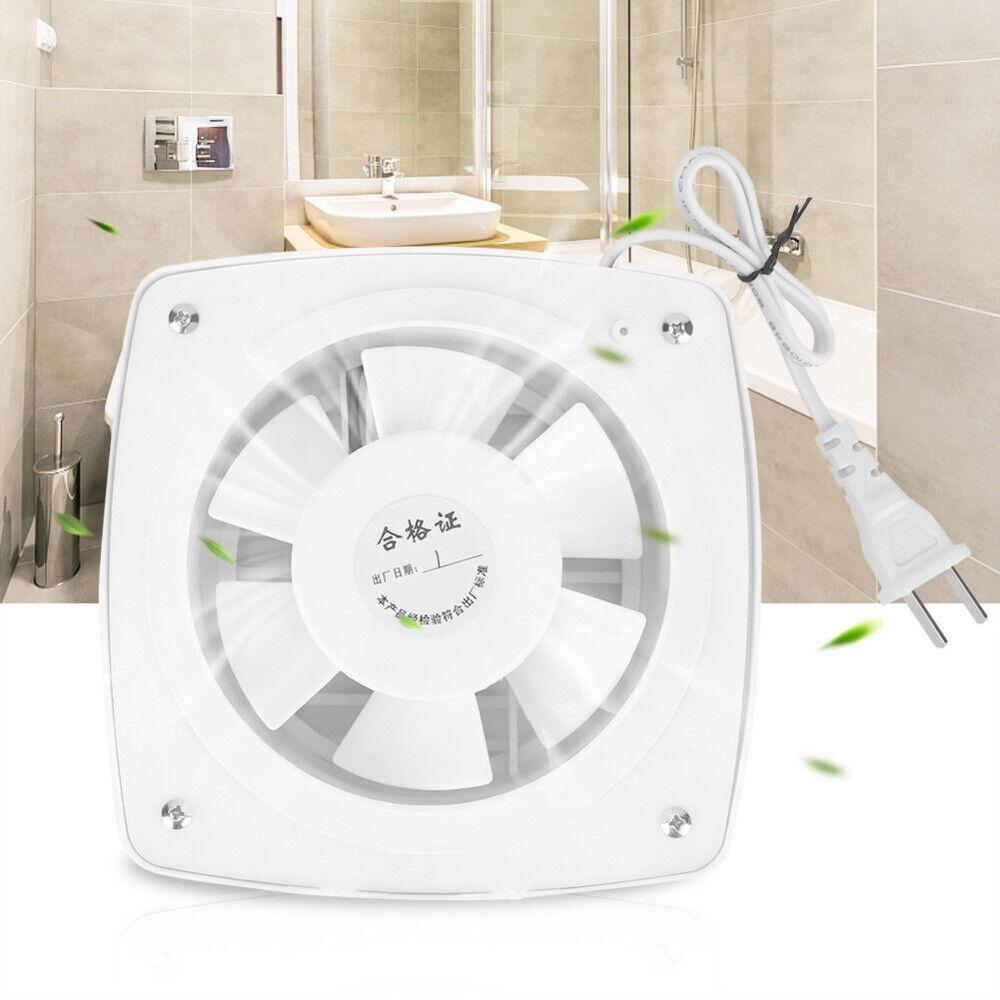 12W 220V Wall Extractor Exhaust Ventilation Fan Bathroom ...
