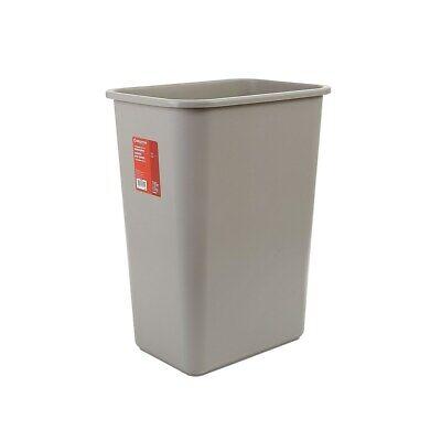 "Brighton Soft Molded Wastebasket 10.25 Gallons Beige 20""H x 15 1/2""W x 11""D"