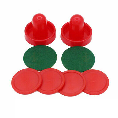 Air Hockey Replacement Accessories Puck Mallet Goalies Set For Game Tables Parts (Air Hockey Replacement Parts)
