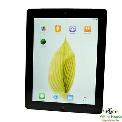 "Apple iPad 2 Gen 9.7"" WiFi + Cellullar 16GB 32GB 64 GB (Black or White)"