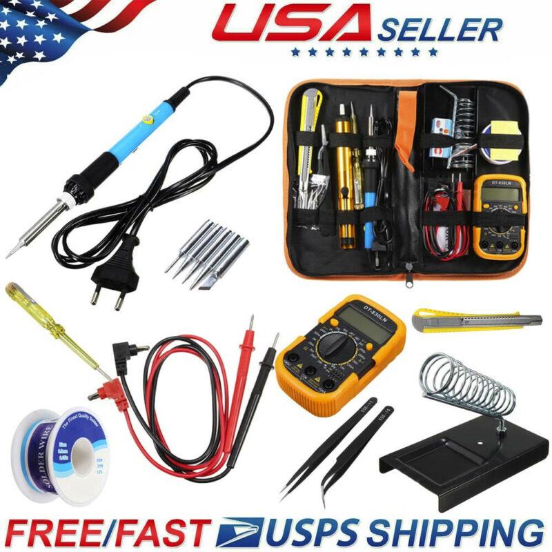 handskit temperature electric soldering iron kit 110v