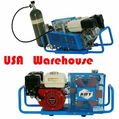 5.5hp 4500psi Gas Power Air Compressor Pump Scuba Paintball Tank Refill 3.5cfm