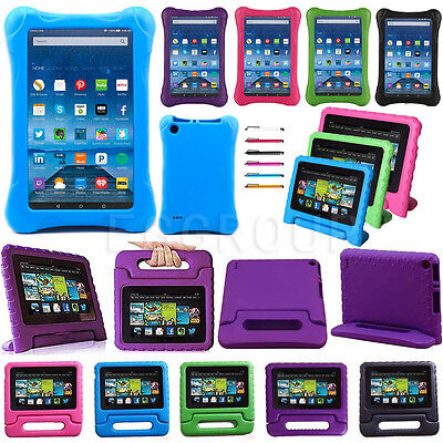 """2017 For Amazon Kindle Fire 7 7"""" 5th Gen 2015 Kids Safe Shock Proof Case Cover"""