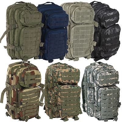 Mil Tec Molle Assault Pack Us Military Army Combat Patrol Rucksack Backpack