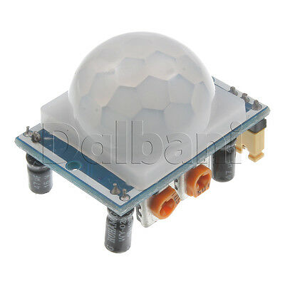 2pcs 3.45 New Hc-sr501 Pir Infrared Motion Sensor Module For Arduino
