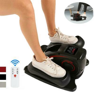 Under Desk Mini Cycle Pedal Exerciser Elliptical Machine Trainer Quiet & Compact Cardio Equipment