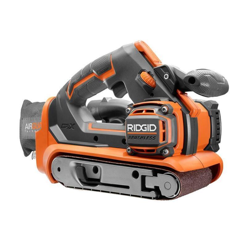 Ridgid Belt Sander Tool Only Dust Bag GEN5X Brushless 18Volt