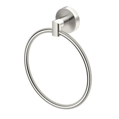 Gatco Satin Handtuchhalter (Gatco Glam, Towel Ring in Satin Nickel 4642)