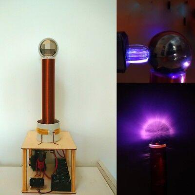 Mini Tesla Coil Plasma Electronic Diy Kit Wireless Transmission Lighting 35w-60w