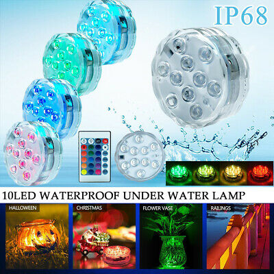 Disco Ball Night Light (2 Pack Underwater Show LED Disco Ball Light Bath Hot Tub SPA Jacuzzi Party)