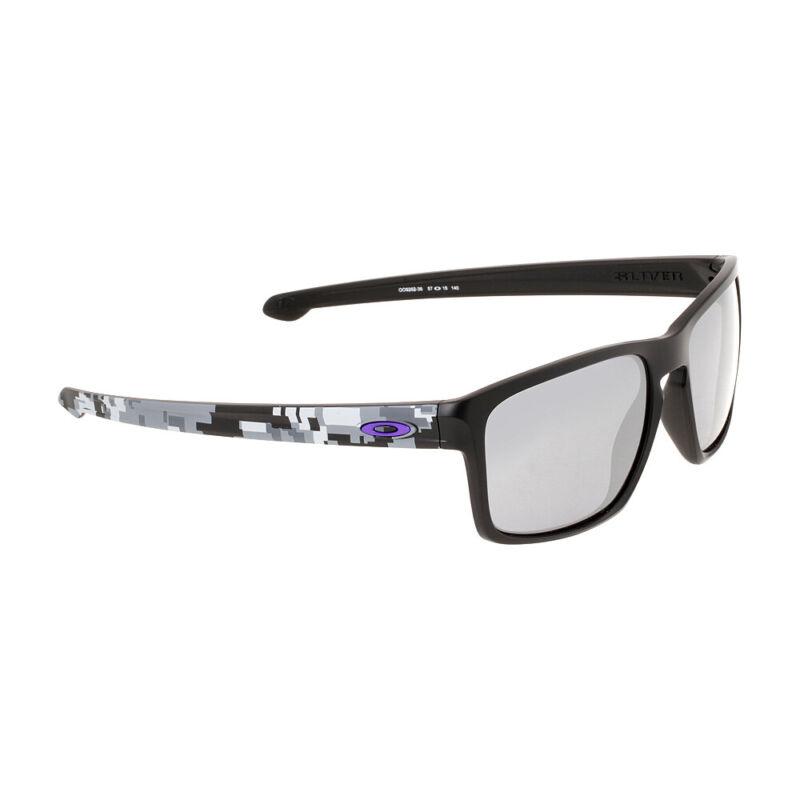 Oakley Sliver Plastic Frame Black Iridium Lens Men