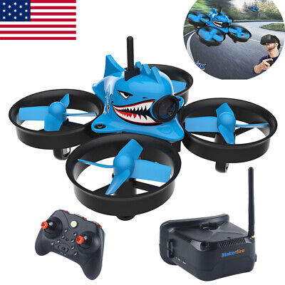Smutty Shark FPV Racing Drone with 5.8G 40CH 1000TVL Camera  Goggles RC Quadcopter
