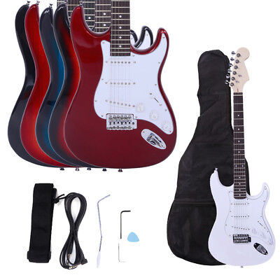 New School Band Electric Right Handed Guitar with Bag & Accessories