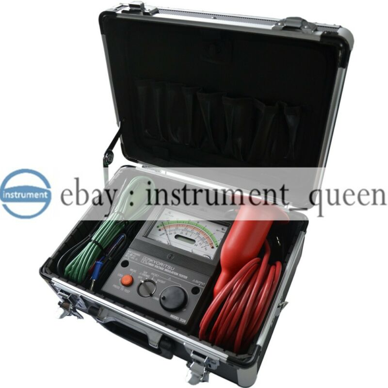 kyoritsu 3124S /3124 High Voltage Insulation Tester Meter 1k~10kV variable