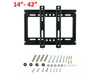 Small Fixed TV Wall Mount 14-42""