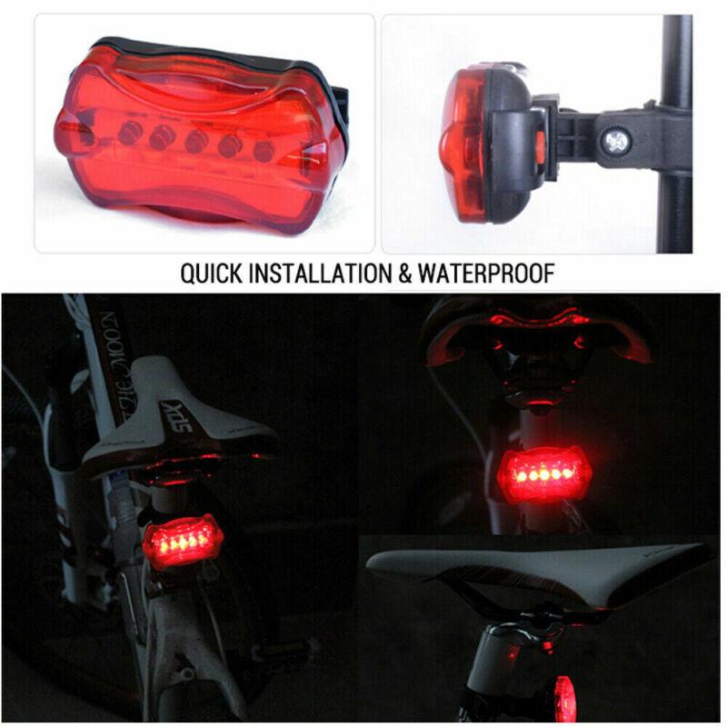 LED Fahrradlampen Set Fahrradbeleuchtung Fahrradlicht COB USB NUE