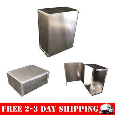 Bud Aluminum Electronics Enclosure Project Box Case Metal Small 8x6x3-12 New