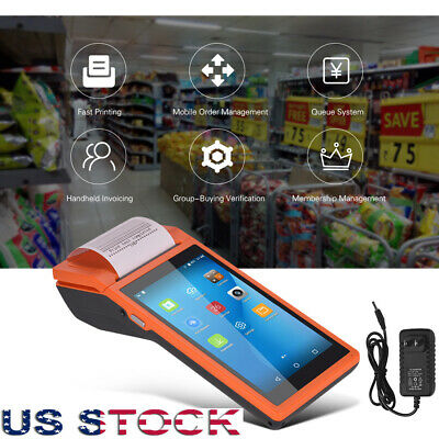 Handheld Android Pos Terminal Receipt Printer Smart Payment 5.5touch Wifi I3p3