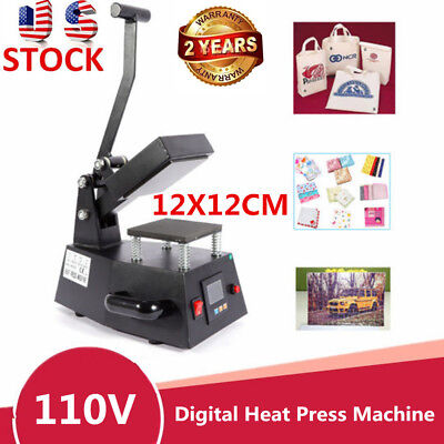 Heat Press Machine Digital Sublimation T-shirt Mug Hat Transfer Printer