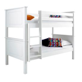 White Pine Bunk Bed/easy to split into 2 singles