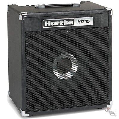 """Hartke HD75 75 Watt Solid State Bass Combo Amp w/ Single 12"""" HyDrive Speaker"""
