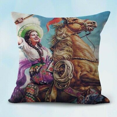 US Seller-Jesus Helguera horse Spanish women cushion cheap pillow cases (Cheap Pillow)