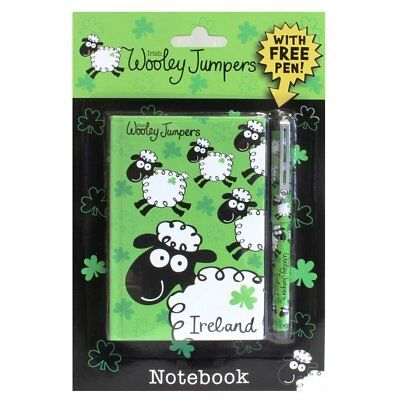 Notebook and Pen Set Wolley Jumper 13 cm Notebook 120 Lined Pages](Notebook And Pen)