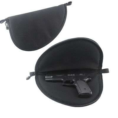Tactical Soft Padded Pistol Case Rug Pouch Sponge Pistol Storage Bag Hunting