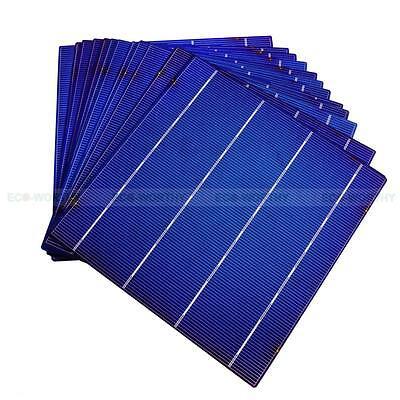 40Pcs 6X6 Whole Solar Cells High Efficiency 4 3W Each Cell Diy 160W Solar Panel