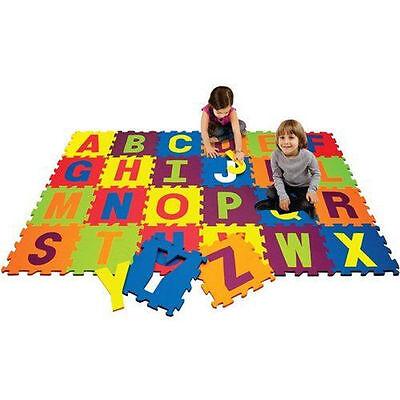 26PC GIANT ALPHABET CHILDREN PLAY MAT FOAM JIGSAW KIDS PLAY GAME FLOOR MATS.
