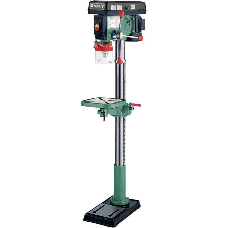 Grizzly G7944 120V 14 Inch 12 Speed Heavy-Duty Floor Drill Press